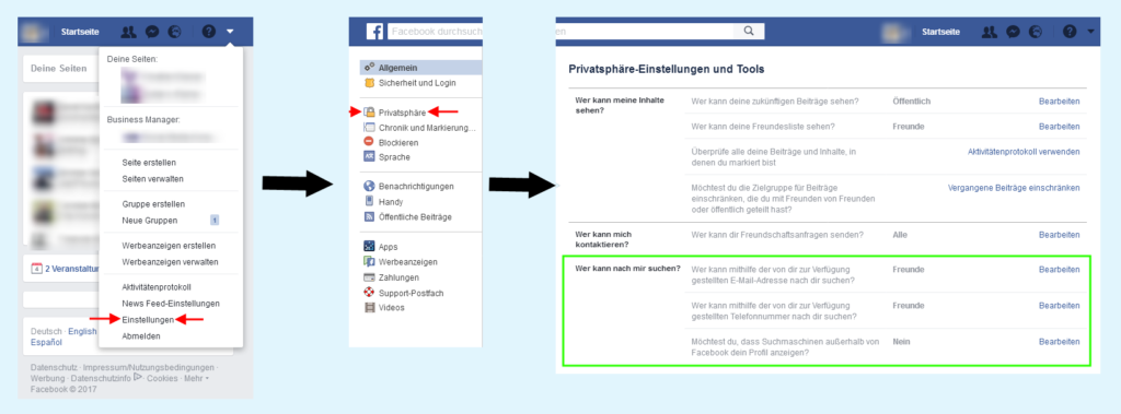 Facebook_Sichtbarkeit