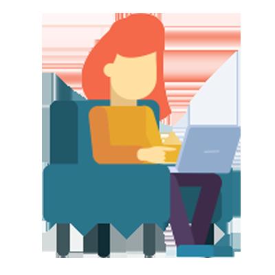 Lady_laptop