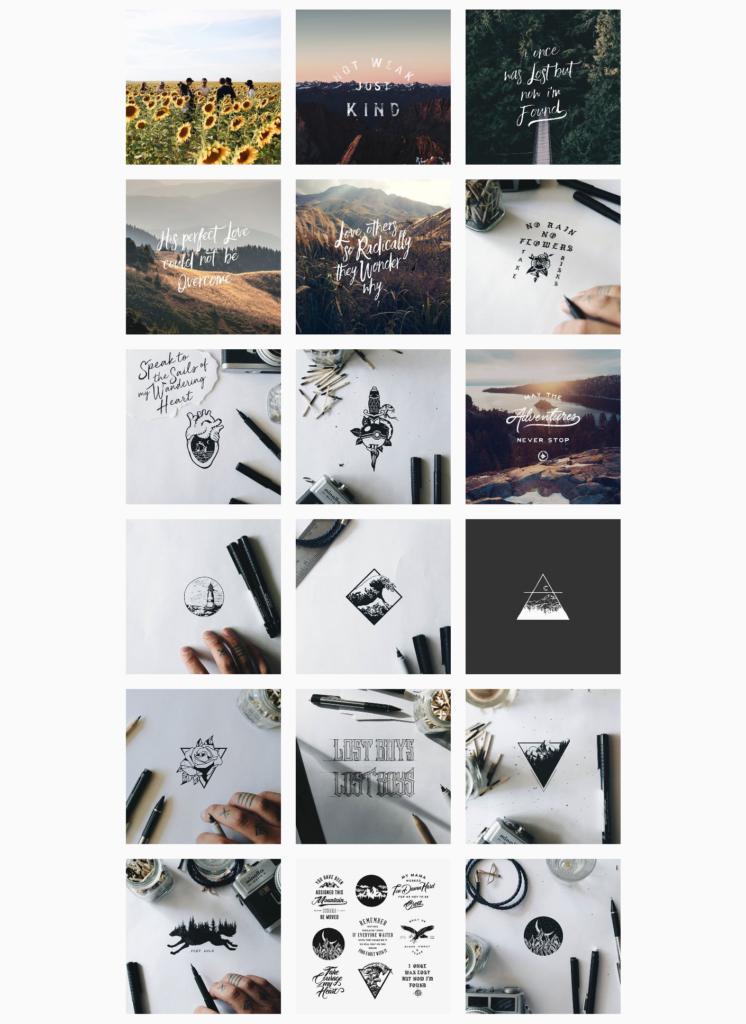 Neues design instagram profil 3 Ways