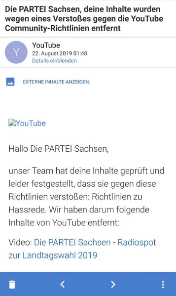 DiePartei YouTube