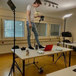 Kameramann Tisch Video