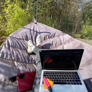 Home-Office Hängematte