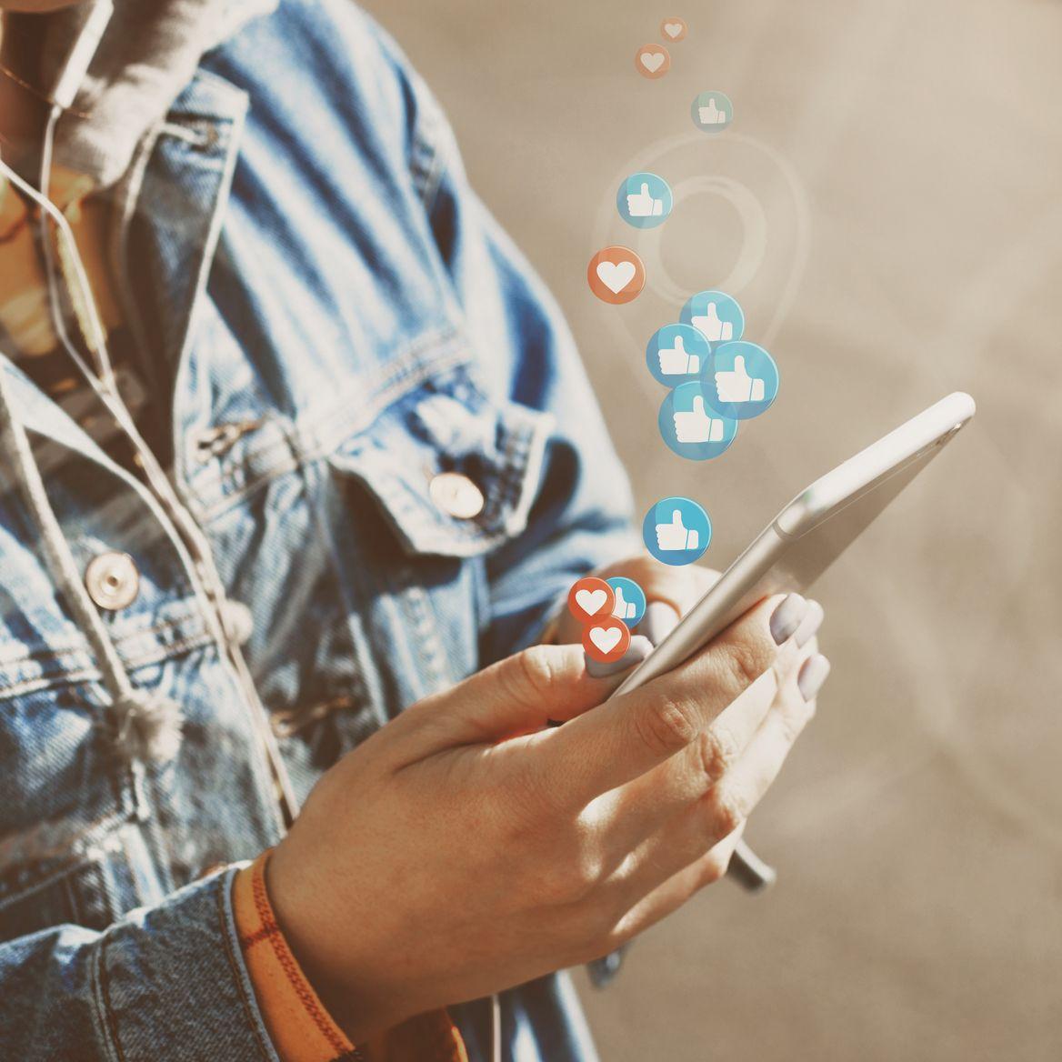 Social Media Leistungen Likes Interaktionen Reichweite