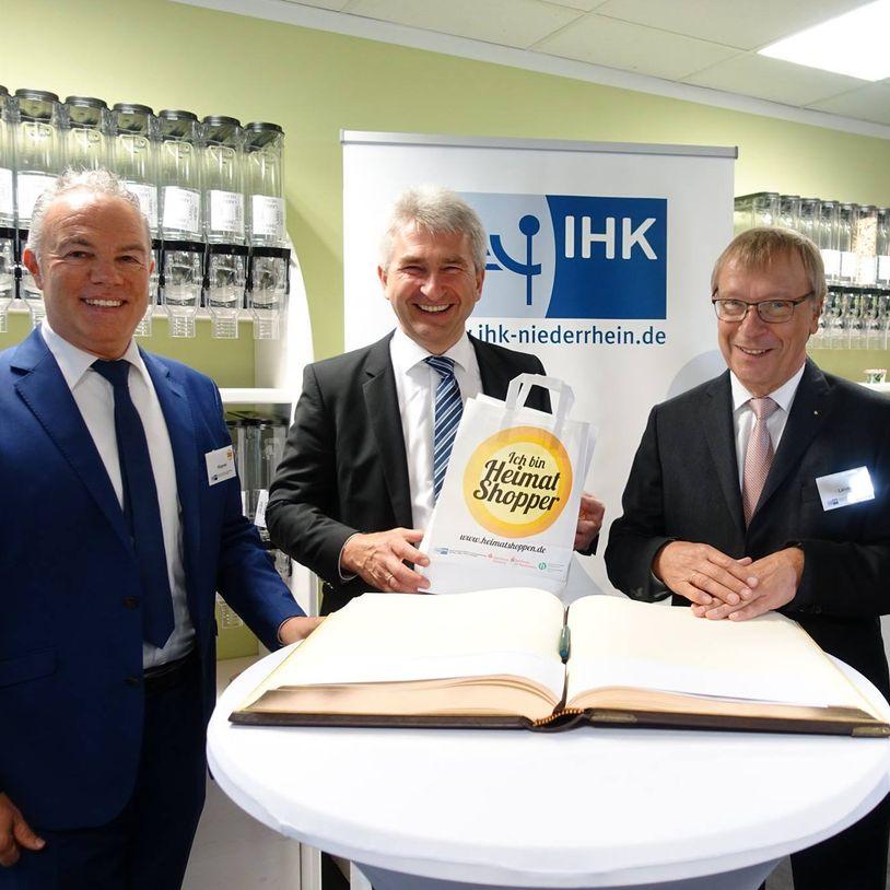Social Media Live Einsatz: Heimat Shoppen Aktionstage IHK
