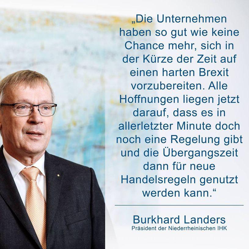 Niederrheinische IHK Social Media Marketing Kachel Zitat Burkhard Landers