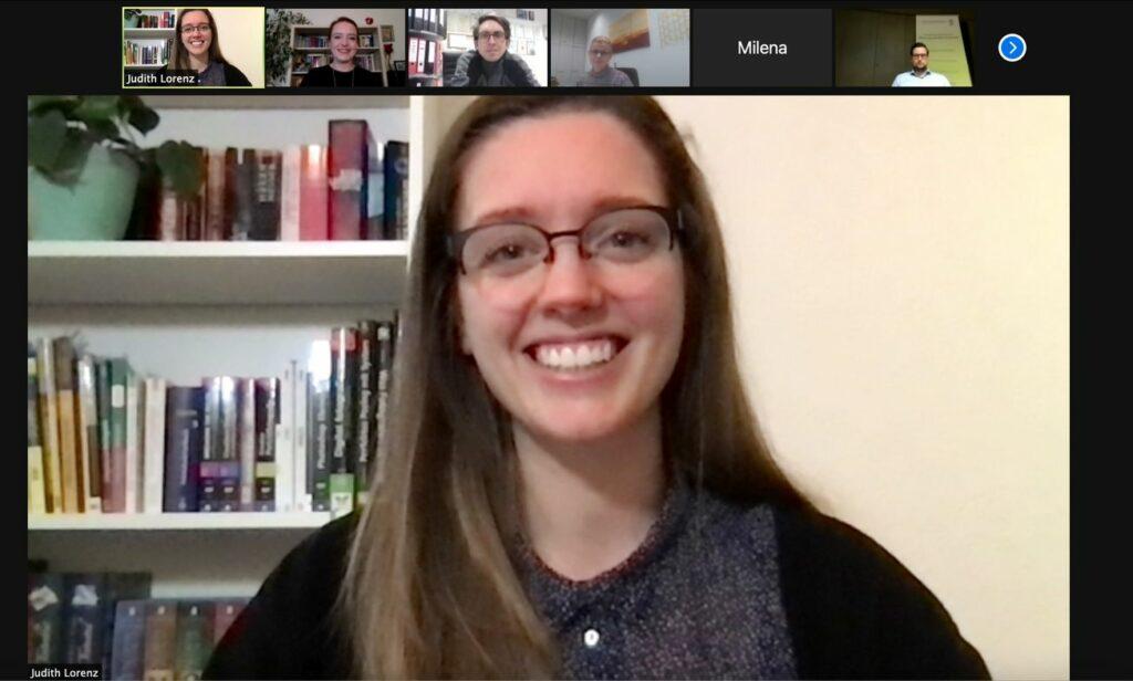 Screenshot eines Social-Media-Workshops per Zoom