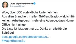 Laura Sophie Dornheim @schwarzblond